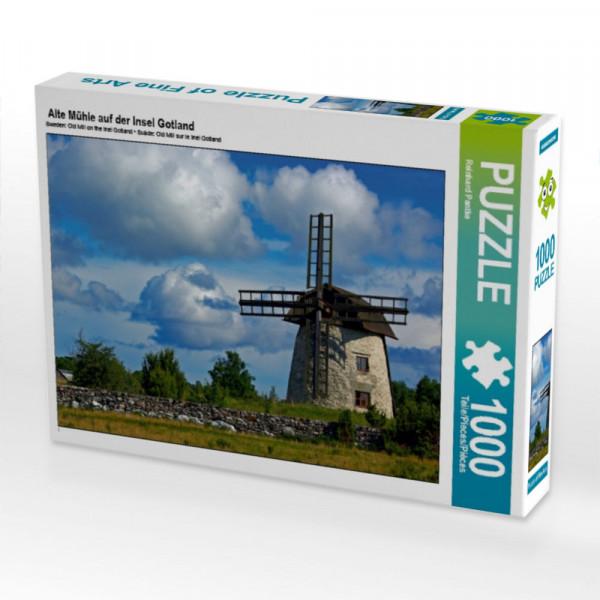 Puzzle Alte Mühle auf der Insel Gotland
