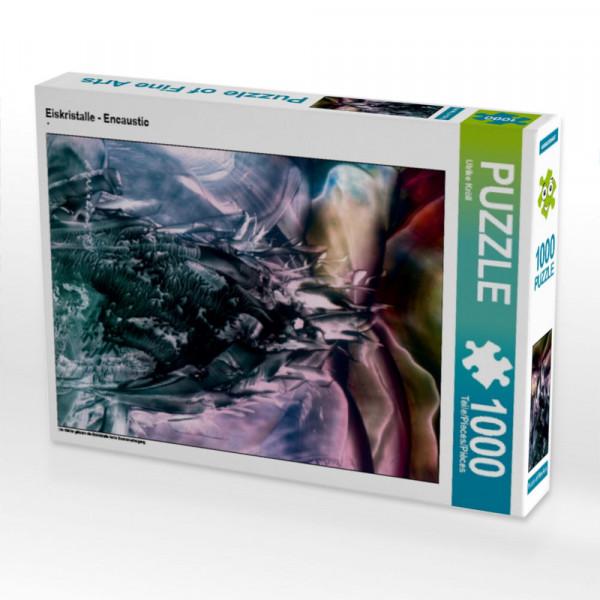 Eiskristalle - Encaustic Puzzle 1
