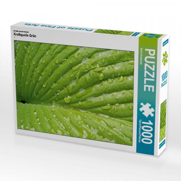 Puzzle Kraftquelle Grün