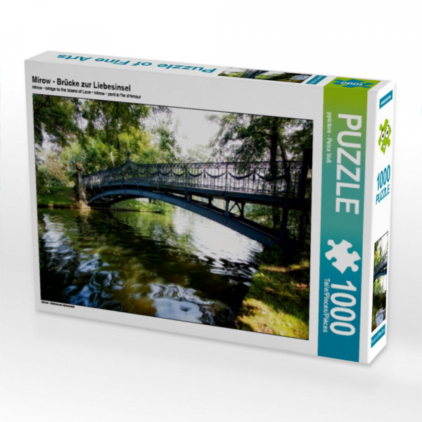Puzzle Mirow - Brücke zur Liebesinsel