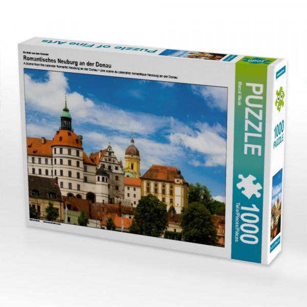 Puzzle Romantisches Neuburg an der Donau