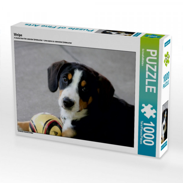 Puzzle Welpe