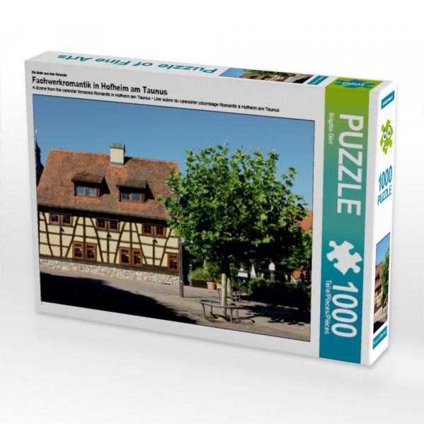 Puzzle Fachwerkromantik in Hofheim am Taunus