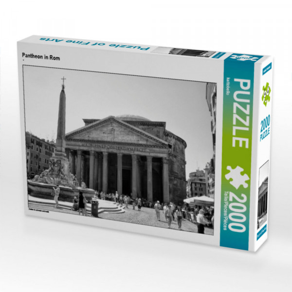Puzzle Pantheon in Rom Foto-Puzzle Bild von