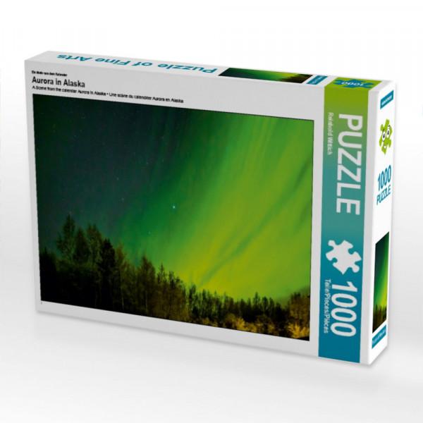 Puzzle Aurora in Alaska
