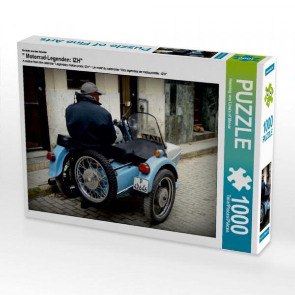 Puzzle Motorrad-Legenden: IZH