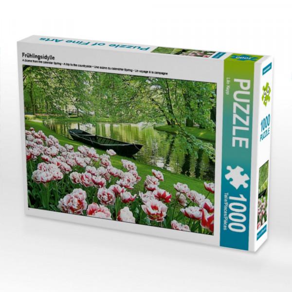 Puzzle Frühlingsidylle