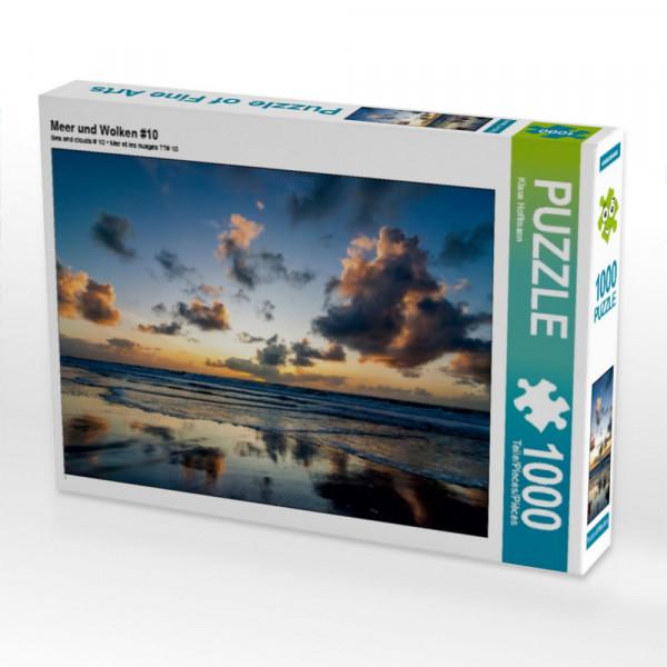 Puzzle Meer und Wolken #10