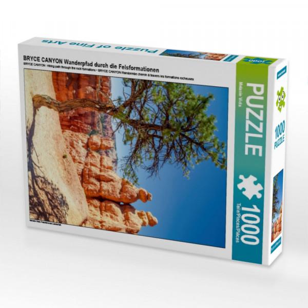 Puzzle BRYCE CANYON Wanderpfad durch die Felsformationen