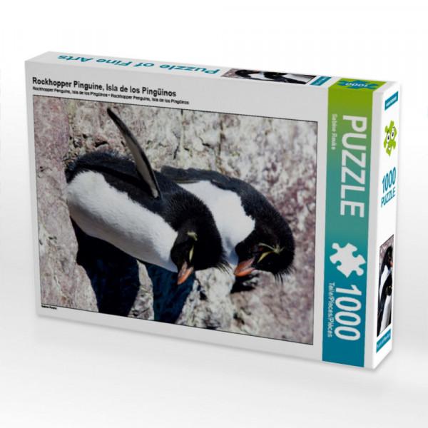Puzzle Rockhopper Pinguine Isla de los Pingüinos