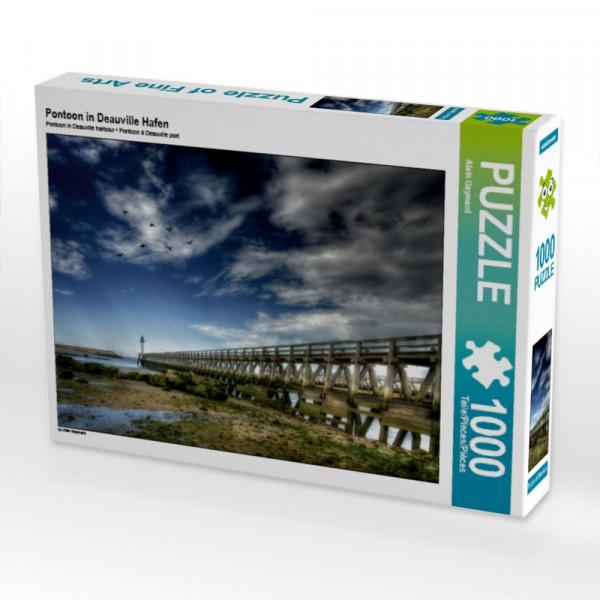 Puzzle Pontoon in Deauville Hafen