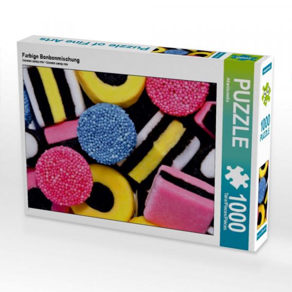 Puzzle Farbige Bonbonmischung