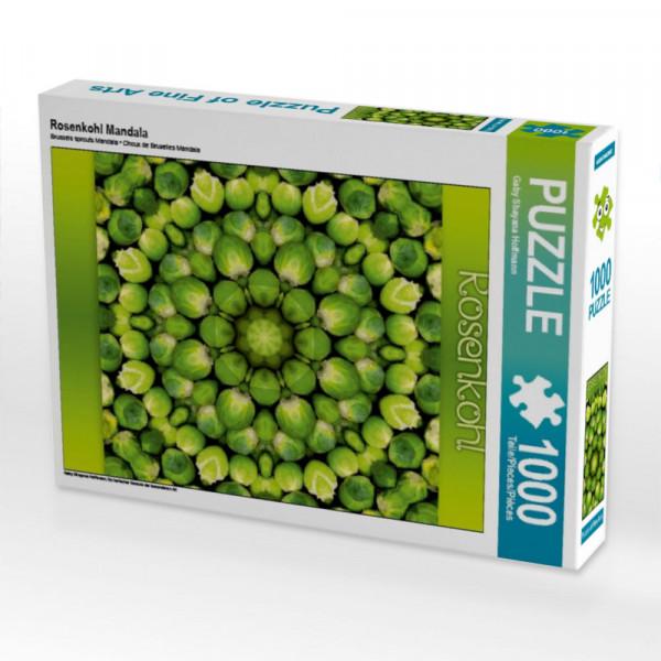 Puzzle Rosenkohl Mandala