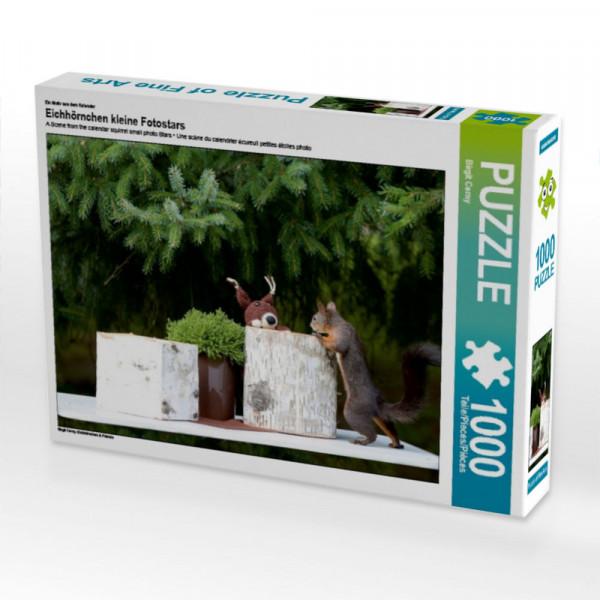 Puzzle Eichhörnchen kleine Fotostars