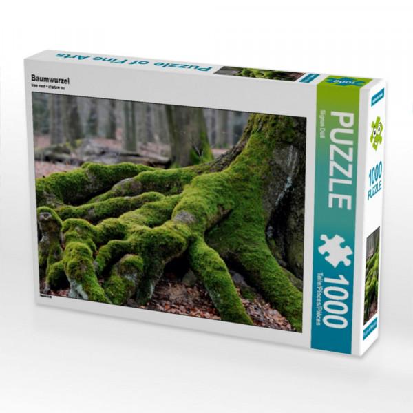 Puzzle Baumwurzel