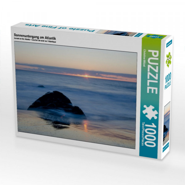Puzzle Sonnenuntergang am Atlantik