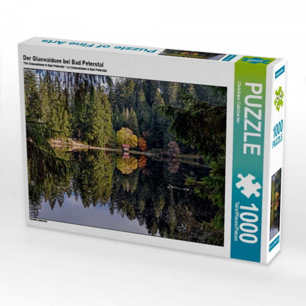 Puzzle Der Glaswaldsee bei Bad Peterstal