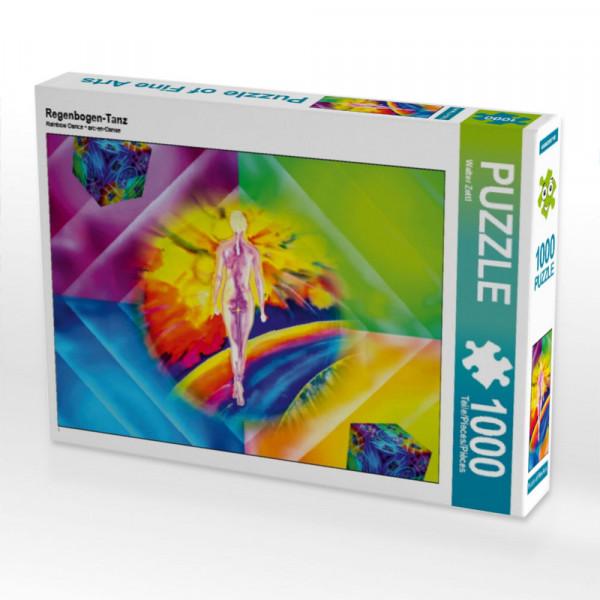 Puzzle Regenbogen-Tanz