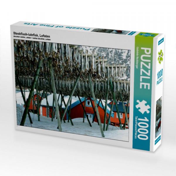 Puzzle Stockfisch-lutefisk Lofoten