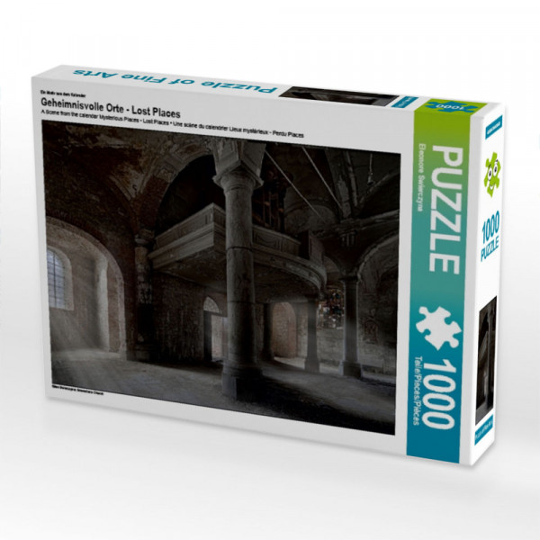 Puzzle Geheimnisvolle Orte - Lost Places