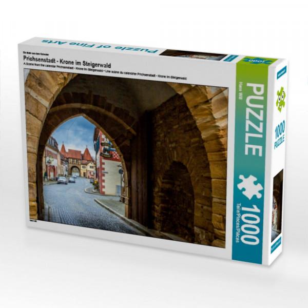 Puzzle Prichsenstadt - Krone im Steigerwald