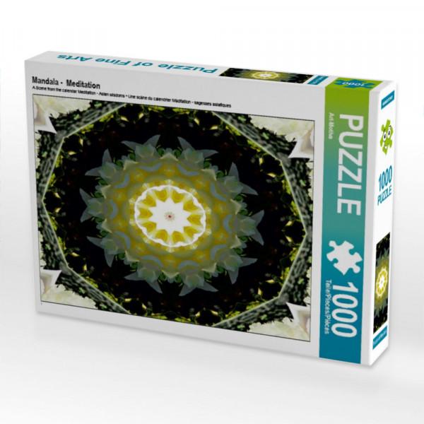 Puzzle Mandala - Meditation