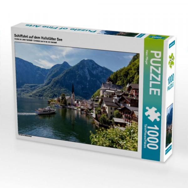 Puzzle Schiffahrt auf dem Hallstätter See