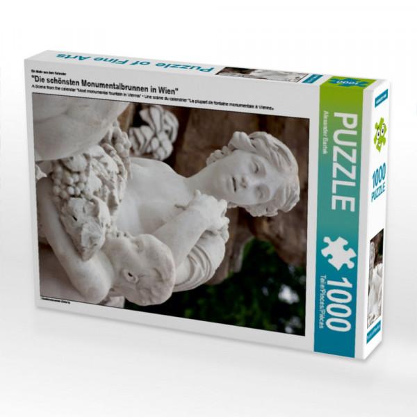 Puzzle Die schönsten Monumentalbrunnen in Wien