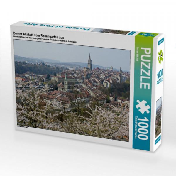 Puzzle Berner Altstadt vom Rosengarten aus