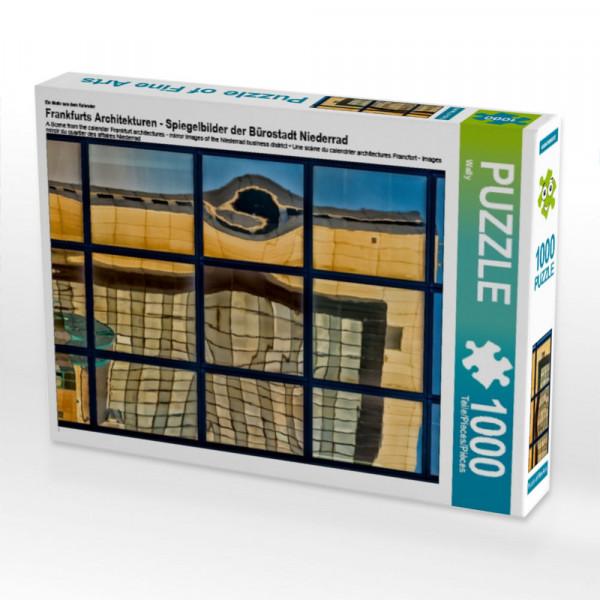 Puzzle Frankfurts Architekturen - Spiegelbilder der Bürostadt Niederrad