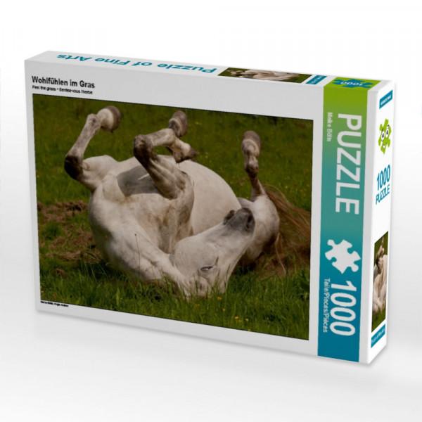 Puzzle Wohlfühlen im Gras