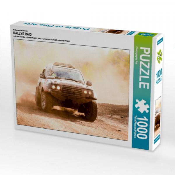 Puzzle Toyota HDJ 80 Rallye Raid