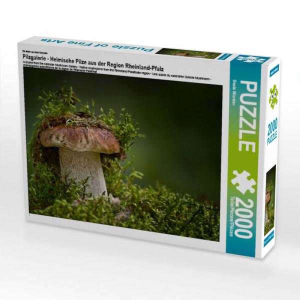 Puzzle Pilzgalerie - Heimische Pilze aus der Region Rheinland-Pfalz Foto-Puzzle Bild von Wurster Beate