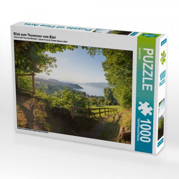 Puzzle Blick zum Thunersee vom Büel