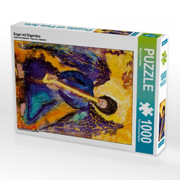 Puzzle Engel mit Digeridoo