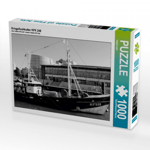 Puzzle Kriegsfischkutter KFK 248