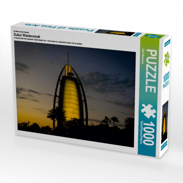 Puzzle Dubai Wüstenstadt