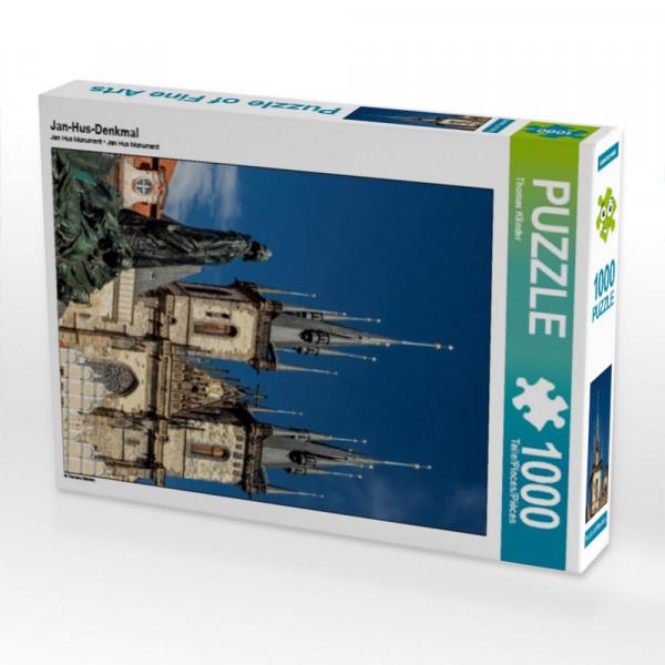 Puzzle Jan-Hus-Denkmal