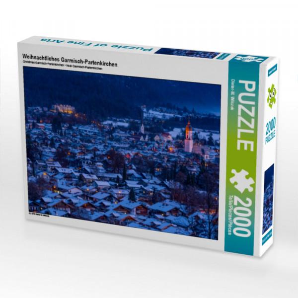 Puzzle Weihnachtliches Garmisch-Partenkirchen Foto-Puzzle Bild von Wilczek Dieter-M.