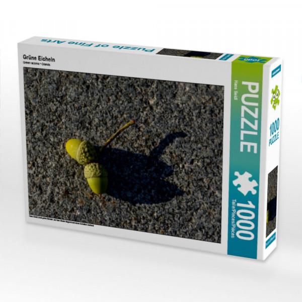 Puzzle Grüne Eicheln