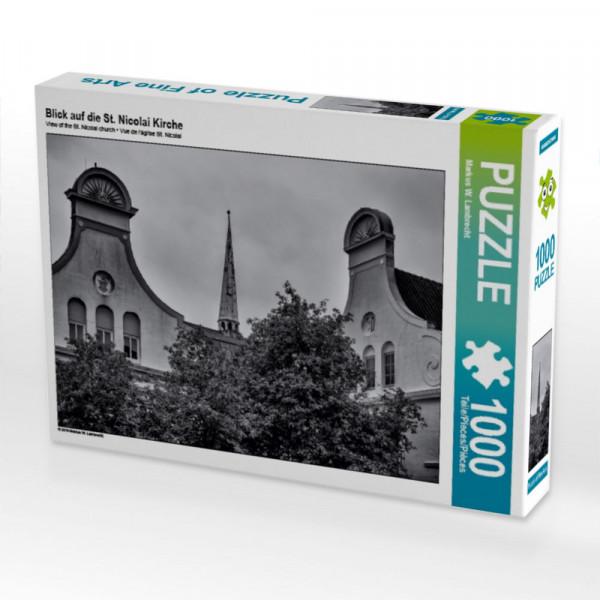 Puzzle Blick auf die St. Nicolai Kirche