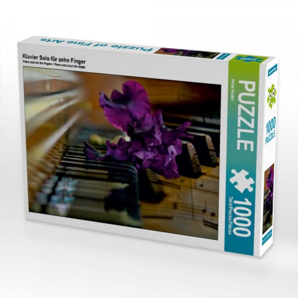Puzzle Klavier Solo für zehn Finger