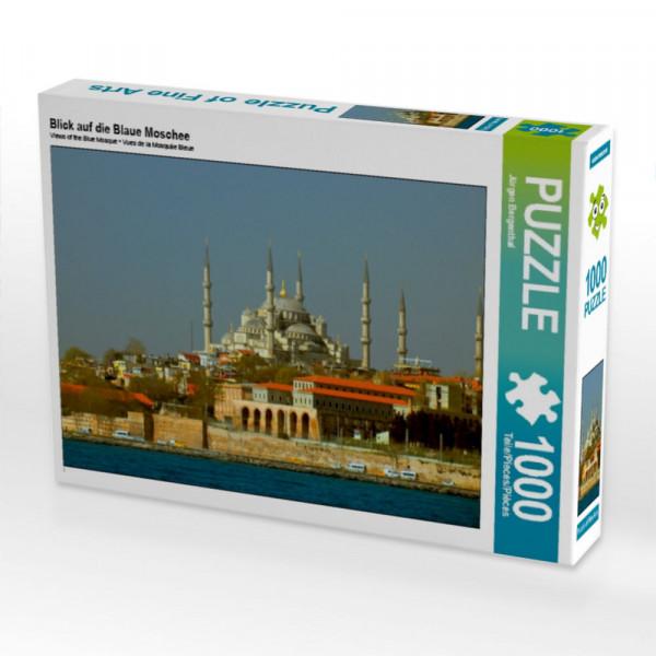 Puzzle Blick auf die Blaue Moschee