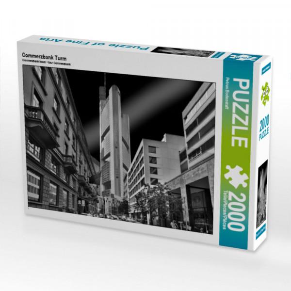 Puzzle Commerzbank Turm Foto-Puzzle Bild von Bodenstaff Petrus