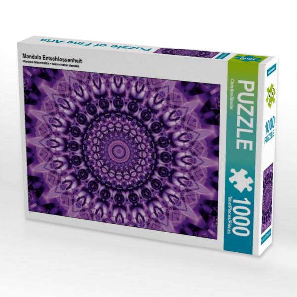 Puzzle Mandala Entschlossenheit