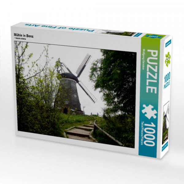 Puzzle Mühle in Benz