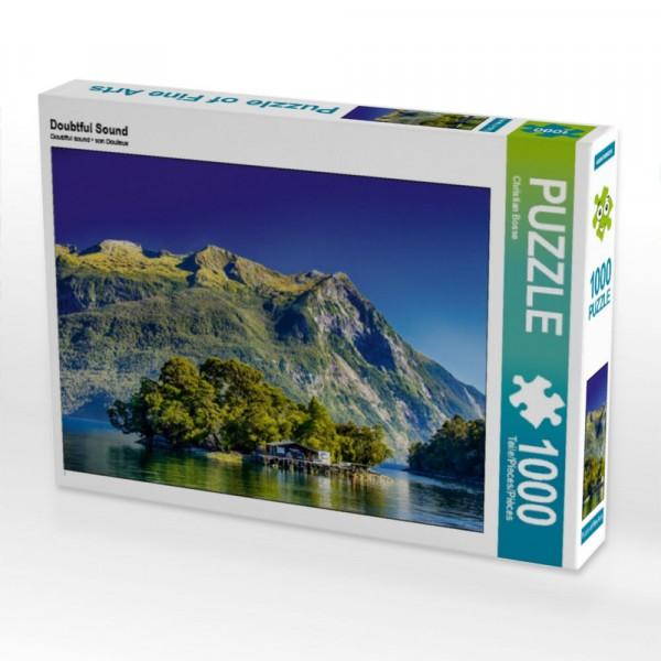 Puzzle Doubtful Sound 1000 Teile Puzzle quer Motiv 1 Bild 1