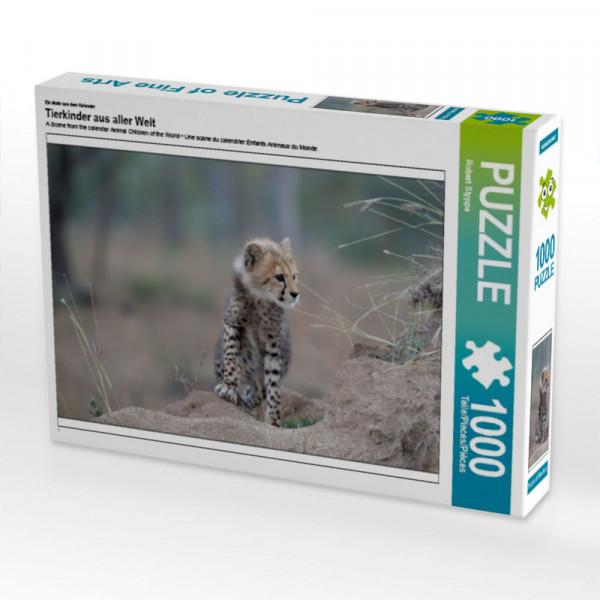 Tierkinder aus aller Welt Puzzle 1