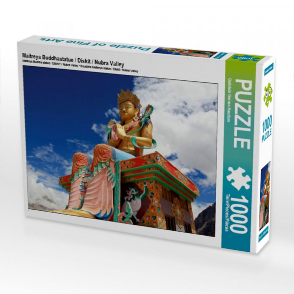 Puzzle Maitreya Buddhastatue / Diskit / Nubra Valley