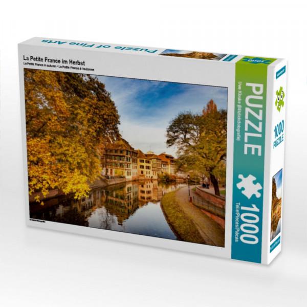 Puzzle La Petite France im Herbst
